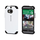 XoShell Case for HTC One (M8) - Black/White