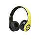 Bluetooth On-the-Ear Headphones with Built-in Microphone-Yellow