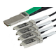 1M Cisco QSFP-4SFP10G-CU1M Compatible QSFP+ to 4SFP+ Breakout Cable