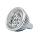 6-Watt (40W Equivalent) MR 16 GU 5.3 LED Bulb, 400 Lumens, Warm/ Soft (3000K) - Non-Dimmable