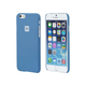 PC Case with Soft Sand Finish for iPhone 6 and 6s - Azurite Blue