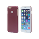 Monoprice Polycarbonate Case for 5.5-inch iPhone 6 Plus and 6s Plus, Metallic Red