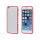 PC+TPU Edge Bumper for 5.5-inch iPhone 6 Plus  and 6s Plus - Red