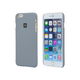 PC Case with Soft Sand Finish for 5.5-inch iPhone 6 Plus and 6s Plus - Granite Gray