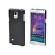 Polycarbonate Case for Samsung Galaxy Note 4 - Metallic Black