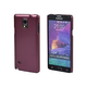 Polycarbonate Case for Samsung Galaxy Note 4 - Metallic Red