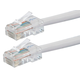 ZEROboot Series Cat5e 24AWG UTP Ethernet Network Patch Cable, 5ft White