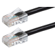 ZEROboot Series Cat5e 24AWG UTP Ethernet Network Patch Cable, 7ft Black
