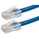 ZEROboot Series Cat5e 24AWG UTP Ethernet Network Patch Cable, 7ft Blue