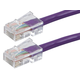 ZEROboot Series Cat5e 24AWG UTP Ethernet Network Patch Cable, 7ft Purple