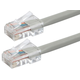 ZEROboot Series Cat5e 24AWG UTP Ethernet Network Patch Cable, 15ft Gray