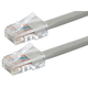 ZEROboot Series Cat5e 24AWG UTP Ethernet Network Patch Cable, 50ft Gray