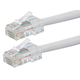 ZEROboot Series Cat5e 24AWG UTP Ethernet Network Patch Cable, 50ft White