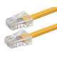 ZEROboot Series Cat5e 24AWG UTP Ethernet Network Patch Cable, 50ft Yellow