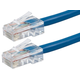 ZEROboot Series Cat5e 24AWG UTP Ethernet Network Patch Cable, 75ft Blue