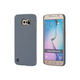 PC Case with Soft Sand Finish for Samsung Galaxy S6  - Granite Gray
