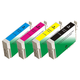 Monoprice remanufactured Epson T126 Bundle - Cyan, Magenta, Yellow, Black