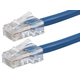 ZEROboot Series Cat6 24AWG UTP Ethernet Network Patch Cable, 10ft Blue