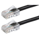 ZEROboot Series Cat6 24AWG UTP Ethernet Network Patch Cable, 25ft Black