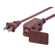 9FT 16/2 SPT-2 BROWN 3-OUTLET HOUSEHOLD EXTENSION CORD