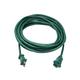 Monoprice Outdoor Extension Cord - Polarized NEMA 1-15P to Polarized NEMA 1-15R, 16AWG, 13A/1625W, SJTW, 2-Prong, Green, 25ft