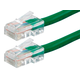 Monoprice Zeroboot Cat5e Ethernet Patch Cable - RJ45, Stranded, 350Mhz, UTP, Pure Bare Copper Wire, 24AWG, 50ft, Green