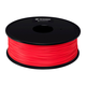 Monoprice Premium 3D Printer Filament PETG 1.75mm, 1kg/Spool, Red