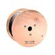 1000ft RG6Q Coax Cable, PVC ETL, Black