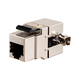 Monoprice Entegrade Series Cat6 RJ-45 Fully Shielded 180-Degree Keystone