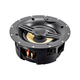 Monoprice Black Back Ceiling Speakers 6.5-inch Fiber 2-Way with Covered Crossover (pair)