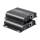 Monoprice BitPath AV HDMI Extender Over Single Cat6 Cable with IR and PoE-Enabled, 120m