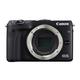 "Canon EOS M3 24.2 Megapixel Mirrorless Camera Body Only - Black - 3"" Touchscreen LCD - 16:9 - E-TTL II - 6000 x 4000 Image - 1920 x 1080 Video - HDMI - PictBridge - HD Movie Mode - Wireless LAN"