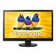 "ViewSonic VA2446M-LED 24"" Full HD 1080P TN Monitor, 1000:1, 300cd/m2, VGA&DVI-D, Built-in Speaker, VESA mountable"