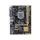 Asus Desktop Motherboard - Intel H81 Chipset - Socket H3 LGA-1150 - 10 x Bulk Pack - Micro ATX - 1 x Processor Support - 16 GB DDR3 SDRAM Maximum RAM - 2 x Memory Slots