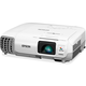 Epson PowerLite S27 LCD Projector V11H694020 - HDTV - 4:3 - Front, Rear, Ceiling - UHE - 200 W - 5000 Hour Normal Mode - 10000 Hour Economy Mode - 800 x 600 - SVGA - 10,000:1 - 2700 lm