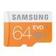 Samsung EVO 64 GB microSDXC - Class 10 - 1 Card