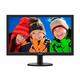 """Philips V-line 243V5LSB 23.6"""" LED LCD Monitor - 16:9 - 5 ms - 1920 x 1080 - 16.7 Million Colors - 250 Nit - 10,000,000:1 - DVI - VGA"""