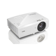 BenQ MW727 3D Ready DLP Projector - 720p - HDTV - 16:10 - Front, Ceiling - UHP - 280 W - 3000 Hour Normal Mode - 4000 Hour Economy Mode - 1280 x 800 - WXGA - 11,000:1 - 4200 lm - HDMI - USB - 370 W -