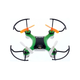 MYEPADS X-Drone Nano 2.0 Toy Drone - 2.40 GHz - Battery Powered - 0.10 Hour Run Time - 98.43 ft Operating Range - RF - Outdoor, Indoor