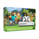 Microsoft Xbox One S 500GB Minecraft Favorites Console Bundle - Robot White