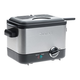 Cuisinart Compact 1.1-Liter Deep Fryer - Brushed Stainless Steel CDF - 100