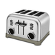 Cuisinart  Metal Classic 4-Slice Toaster - Brushed Stainless - CPT-180