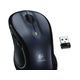 Logitech M510 Mouse - Laser - Wireless - Radio Frequency - Gray, Black - USB - 1000 dpi - Computer - Scroll Wheel - 7 Button(s) - Symmetrical