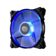Cooler Master JetFlo 120 - POM Bearing 120mm Blue LED High Performance Silent Fan for Computer Cases, CPU Coolers, and Radiators - Cooler Master JetFlo 120