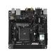 MSI A68HI AC Desktop Motherboard - AMD Chipset - Socket FM2+ - Mini ITX - 1 x Processor Support - 32 GB DDR3 SDRAM Maximum RAM - 1.87 GHz, 2.13 GHz, 1.60 GHz, 1.33 GHz Memory Speed Supported - DIMM, U