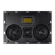 Monoprice Amber In-Wall Speaker Center Channel Dual 5.25-inch 3-way Carbon Fiber with Ribbon Tweeter (single)