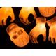 3 Count Skull and Hands Halloween Pathway Marker Light 4.5 Feet