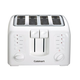 Cuisinart CPT-140 Electronic Cool Touch 4-Slice Toaster, White (Refurbished)