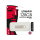 Kingston 128GB DataTraveler SE9 G2 USB 3.0 Flash Drive - 128 GB - USB 3.0 - Silver - 1 Pack