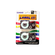 """Casio Label Tape - 0.37"""" Width x 26 ft Length - White - 2 / Pack"""